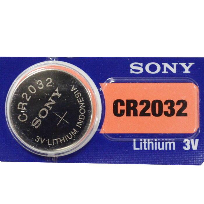 水銀電池CR2032 SONY鈕扣電池 手錶電池 鋰錳電池【DN294】◎123便利屋◎