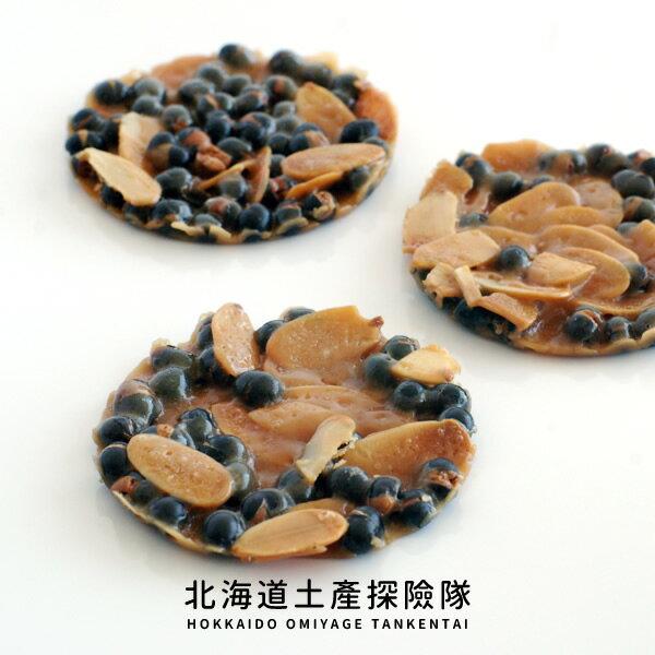 「日本直送美食」[KINOTOYA] 黑千石焦糖杏仁餅 (8枚) ~ 北海道土產探險隊~
