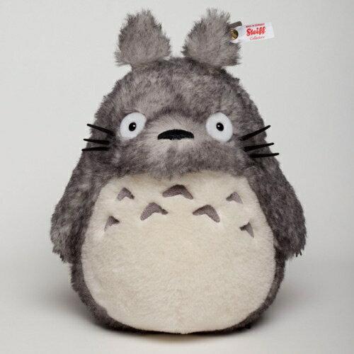﹝宮崎駿會館﹞ 15090400073 日本限量Steiff羊駝絨手工娃 龍貓 TOTORO 豆豆龍 娃娃 絨毛娃 收藏