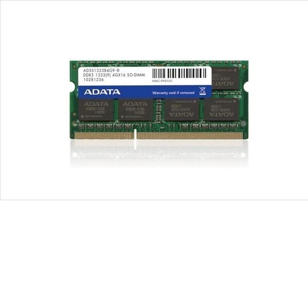 【新風尚潮流】威剛 筆電記憶體 DDR3-1333 4G 4GB 雙面 顆粒 AD3S1333C4G9-R