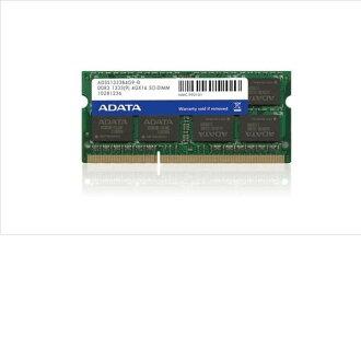 *╯新風尚潮流╭* 威剛 筆電 NB 記憶體 RAM DDR3-1333 4G 4GB AD3S1333C4G9-R