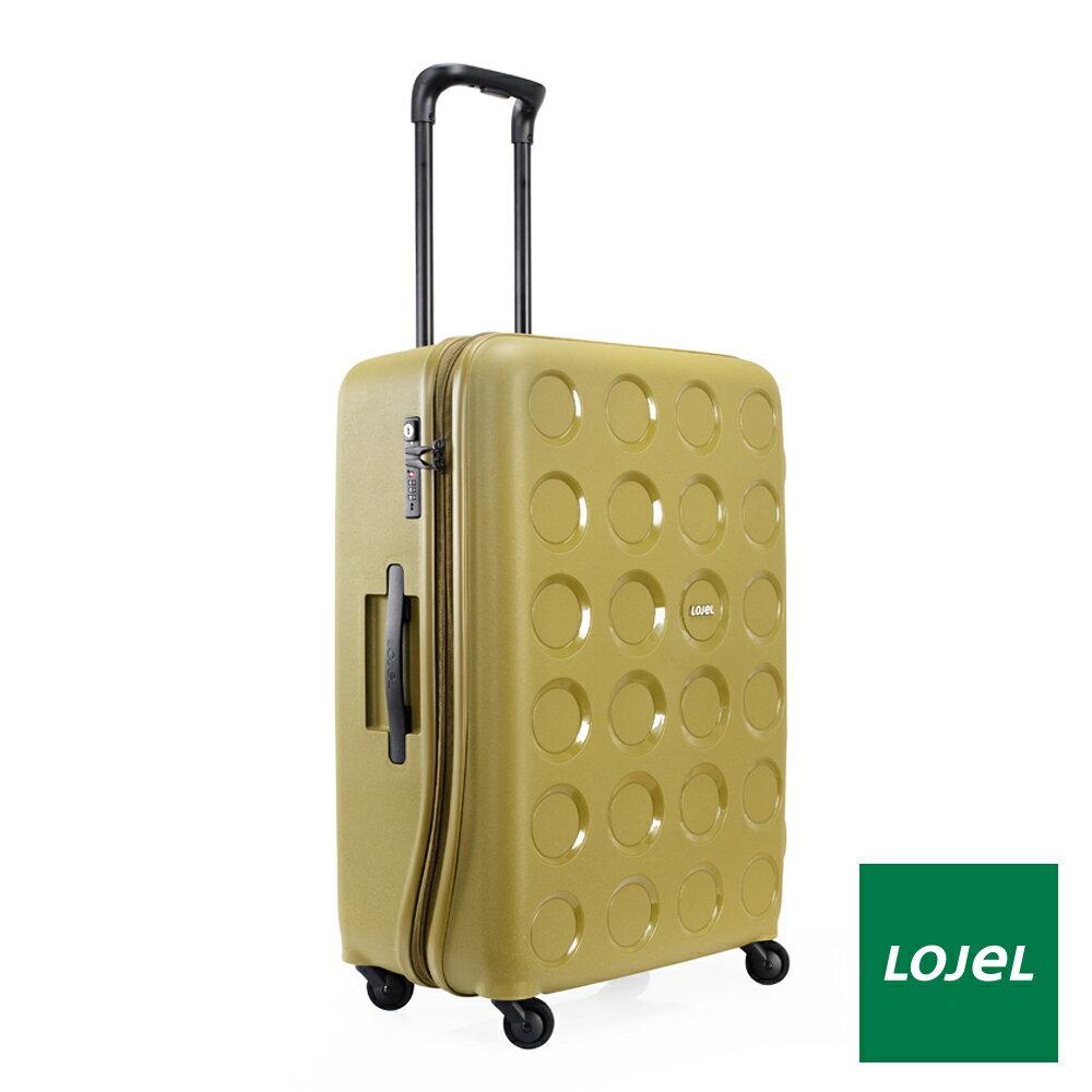 【日本 LOJEL】日本設計 28吋 橄欖綠 PP VITA 拉鍊(登機 行李箱 / 旅行箱)