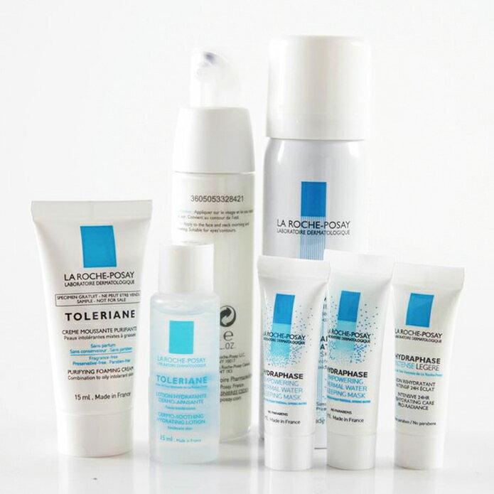 旅行瓶/理膚寶水多容安溫和泡沫洗面乳3ml/旅行瓶 2020/02 公司樣品中文標 PG美妝