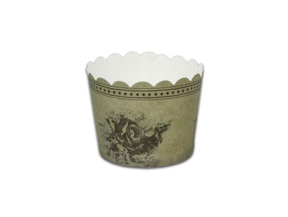 瑪芬杯、杯子蛋糕、烘烤紙杯 MF5040-08 古典花卉(50pcs/包)
