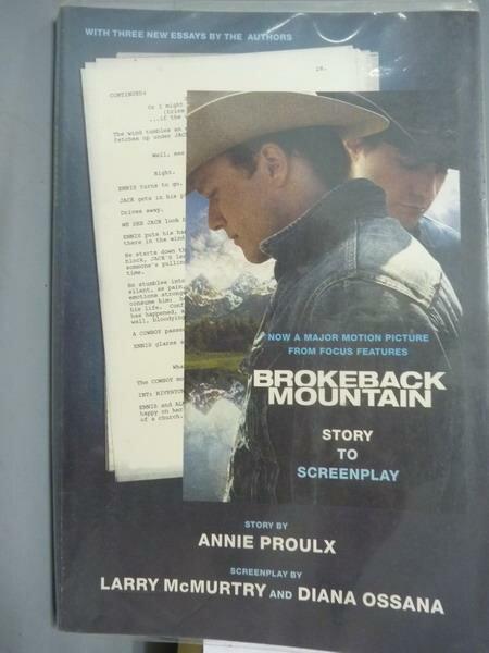 ~書寶 書T2/藝術_PDO~Brokeback Mountain~Story to Sc
