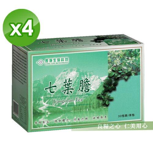 長庚生技 七葉膽茶(30包/盒)x4