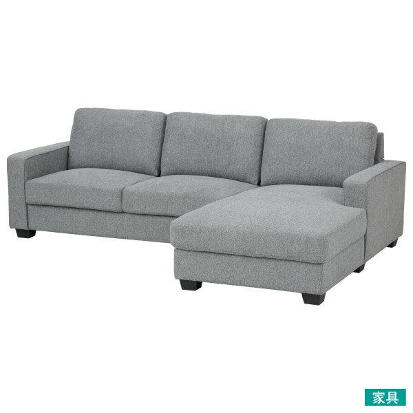 ◎布質左躺椅L型沙發 CASAREDO NITORI宜得利家居 0