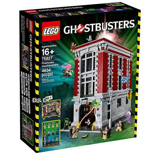 樂高積木 LEGO《 LT 75827 》Ghostbusters 系列 >  魔鬼剋星:總部基地