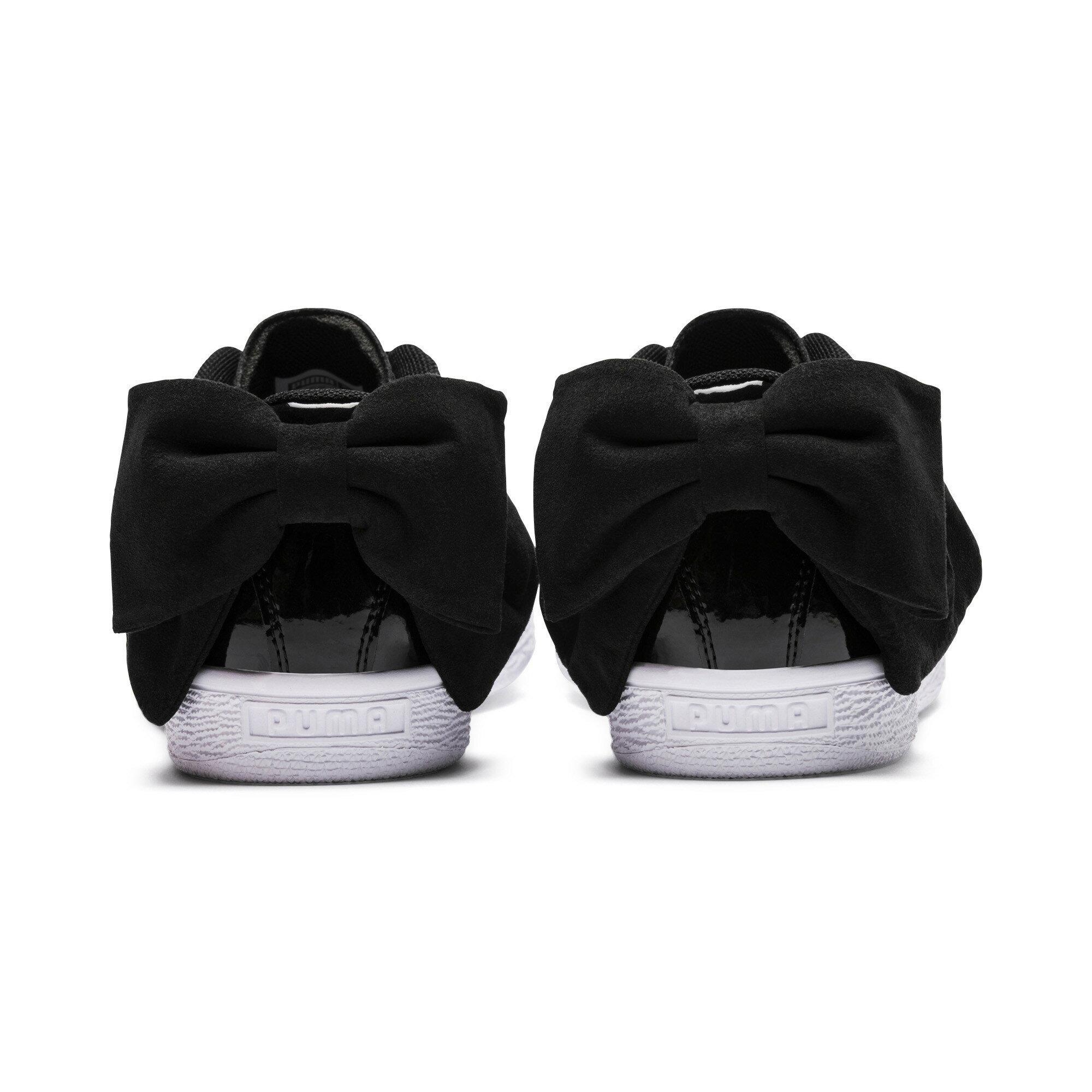 56d0e62f14598c Official Puma Store  PUMA Basket Suede Bow Women s Sneakers ...