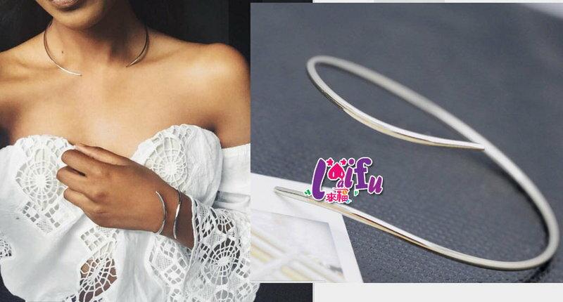 ~草魚妹~H426手環彎形小蠻人 嬉皮異國風極簡款手環,售價139元