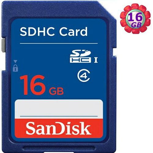 原廠包裝 SanDisk 16GB 16G SDHC SD Class4 C4 適行車紀錄器 相機 記憶卡