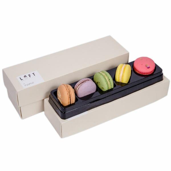 【LOFT蘿芙甜點】馬卡龍五入禮盒