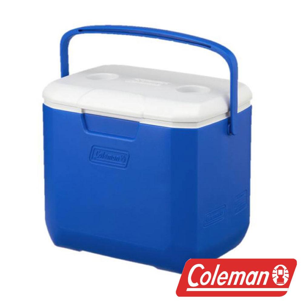 【美國Coleman】28L EXCURSION 海洋藍冰箱 CM-27861 露營 保冷 保溫 冰桶
