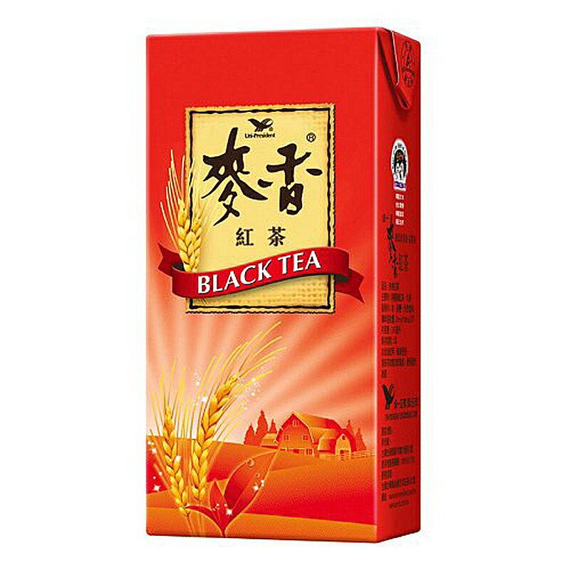 統一 麥香 紅茶 375ml(24入)/箱【康鄰超市】