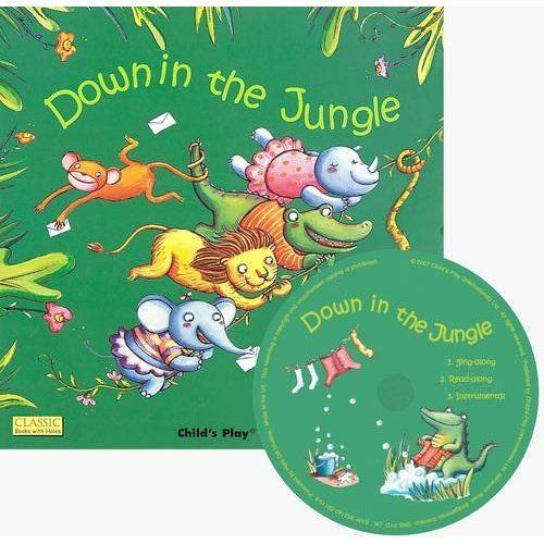 Classic Books With Holes:Down In the Jungle