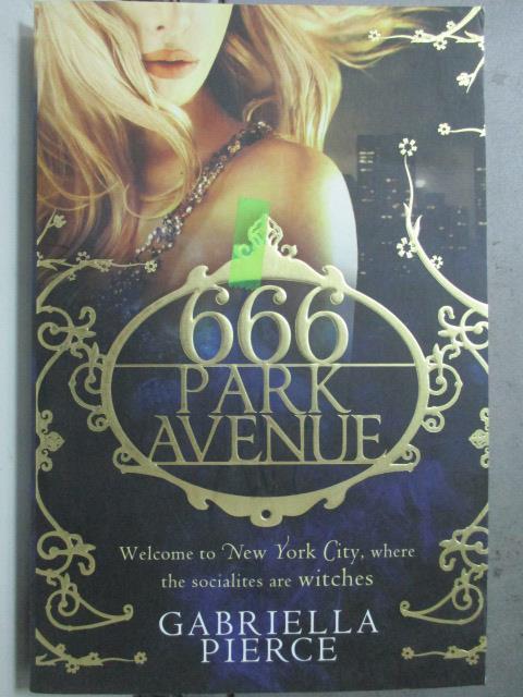 ~書寶 書T6/原文小說_HBA~666 Park Avenue_Gabriella Pi