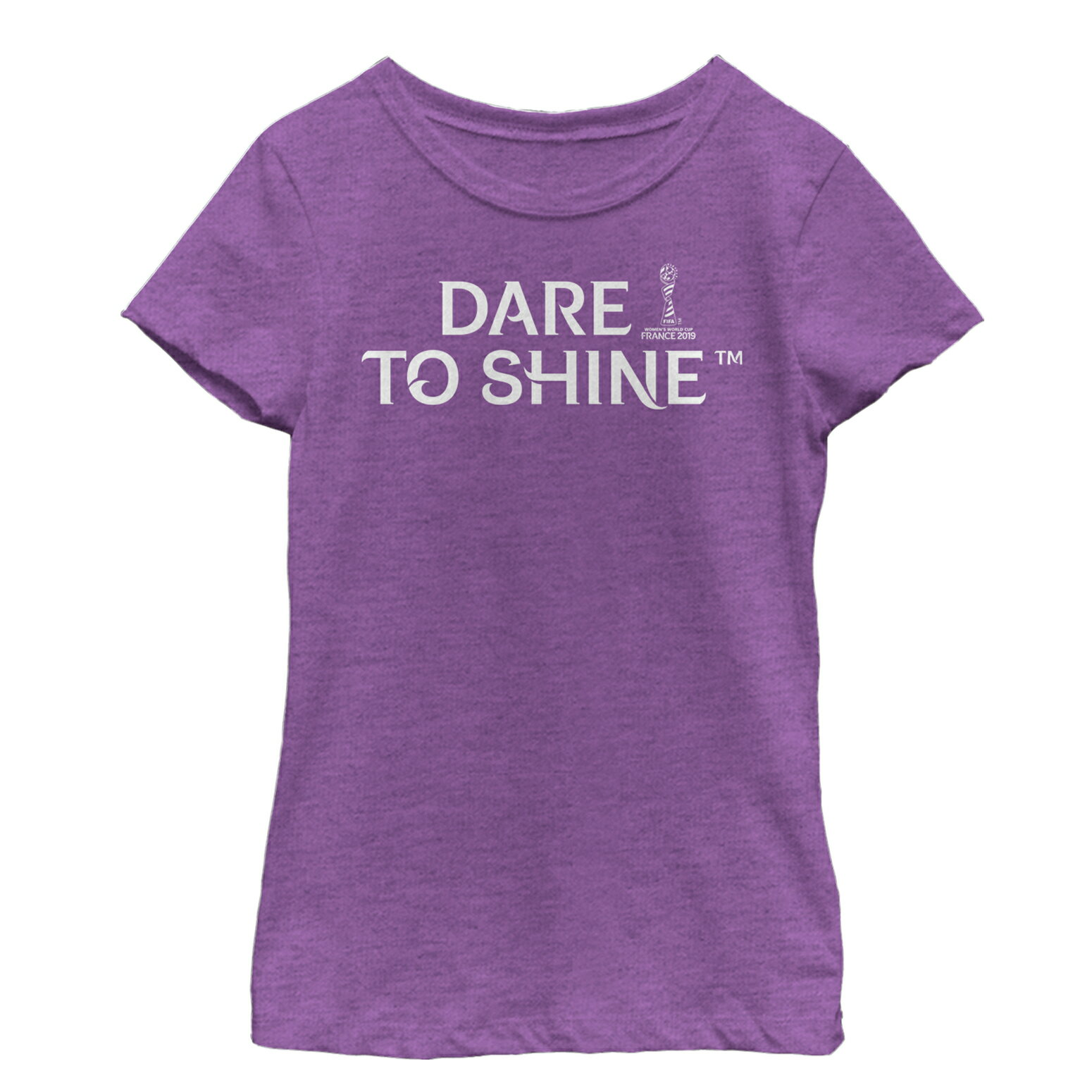 2d1fe2d94 FIFA Women's World Cup France 2019™ Dare to Shine Slogan Girls Graphic T  Shirt 0