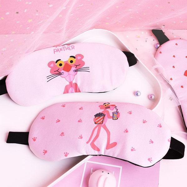 冰敷眼罩-可愛少女心頑皮豹冰敷純棉睡眠眼罩【ANSHOP】