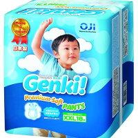 日本境內 王子 Genki! 元氣褲-XXL18片