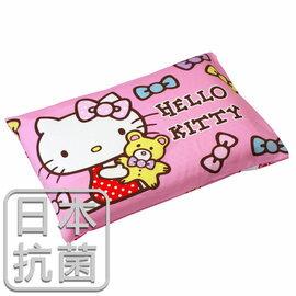 枕頭  兒童枕~kitty抗菌乳膠枕  精梳棉  哈尼小熊  美國棉 品牌^~鴻宇^~ 製