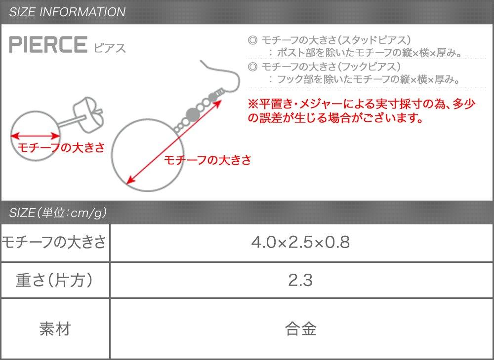 日本CREAM DOT  /  ピアス フープピアス レディース 変形 キャッチレス 大人 上品 エレガント シンプル フェミニン ゴールド シルバー  /  a03592  /  日本必買 日本樂天直送(1098) 7