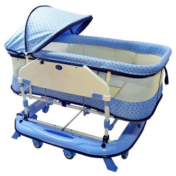 恩典水平搖床  2色可選  嬰兒床【六甲媽咪】