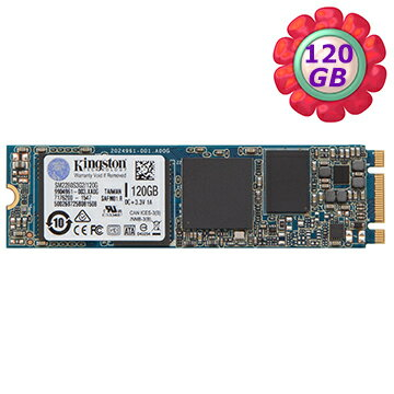 Kingston SSD 120GB SSDNow M.2【SM2280S3G2/120G】SATA G2 固態硬碟
