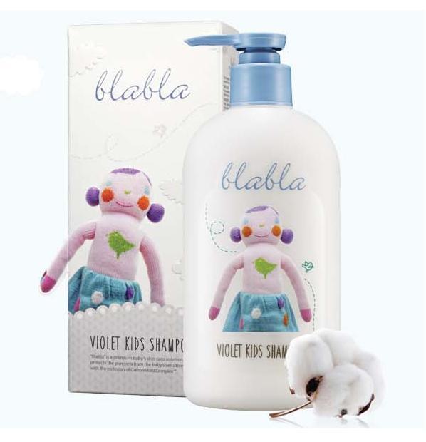 【伊蓮娜小舖】韓國blabla baby系列-兒童洗髮精320ml