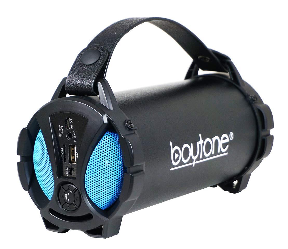 Indoor//Outdoor 2.1 Hi-Fi Cyli Refurb Boytone BT-50RD Portable Bluetooth Speaker