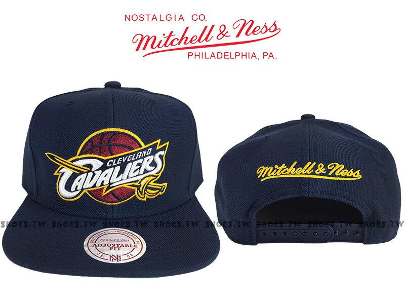 《下殺6折》Shoestw【5056036155356】Mitchell & Ness 調整帽 SNAPBACK 騎士隊 深藍色 0