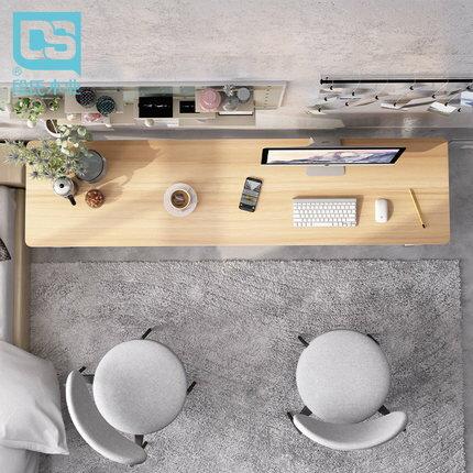 電腦台式桌 書桌簡約臥室電腦台式桌多功能簡易臥室長條桌家用書房學習寫字桌『SS4249』
