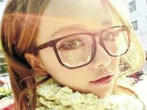 【櫻桃飾品】黑色方框豹紋眼鏡平光鏡超商取貨貨到付款批發【20769】