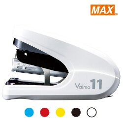 【MAX 美克司】HD-11FLK 白 平針釘書機 (11號針)