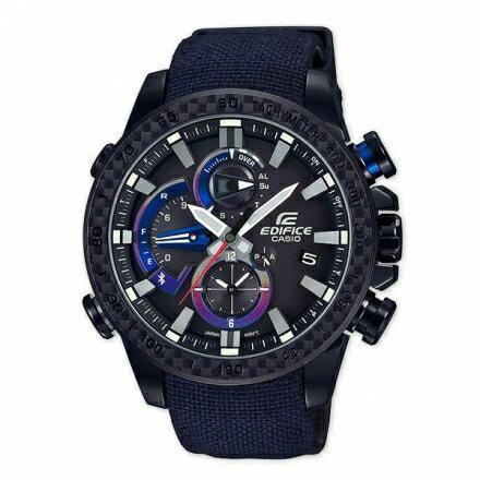 【公司貨】EDIFICE EQB-800TR-1A 高科技藍牙智慧錶款 太陽能 EQB-800TR-1ADR【迪特軍】