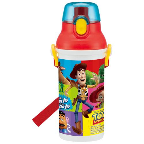 【百倉日本舖】日本製 迪士尼  玩具總動員水壺/兒童水壺/直飲式水壺