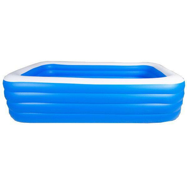 免運 (現貨臺灣出)游泳池 戶外泳池 折疊泳池 充氣泳池 2.6米超大泳池 折疊收納充氣游泳池