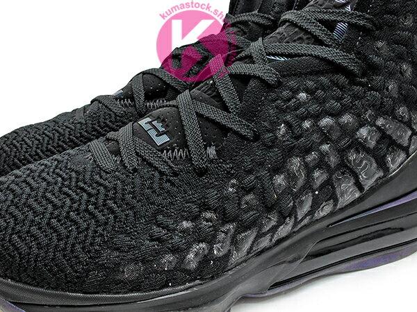 2019-2020 NBA 最新款 LeBRON JAMES 最新代言 NIKE LEBRON XVII EP 17 BLACK 全黑 全新 KNITPOSITE 飛織鞋面 前 15mm ZOOM MAX AIR 後 MAX AIR 氣墊 小皇帝 雷霸龍 KING LAKERS 頂級科技 籃球鞋 (BQ3178-001) 1119 2