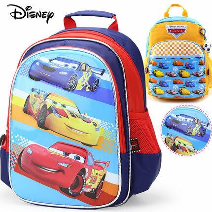 迪士尼 汽車總動員 幼兒園書包 寶寶後背包5~6歲大班