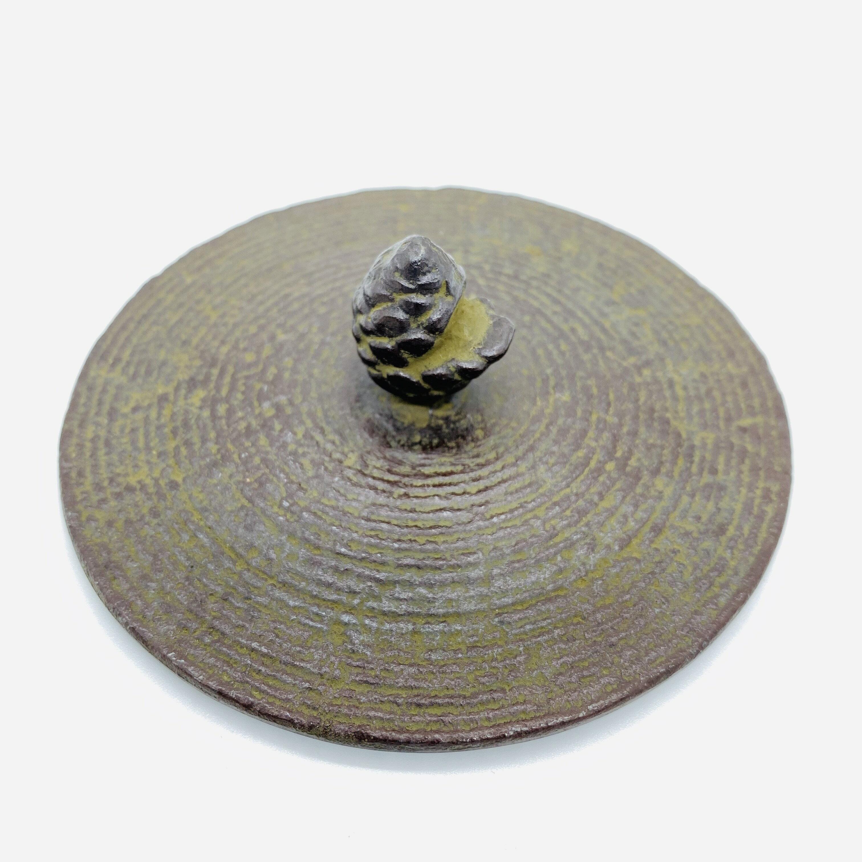 日本 本場南部鐵器-【佐藤勝久 平丸型 系目波紋 1.2L】鐵壺 鉄瓶 煮水 泡茶 只有1個 7