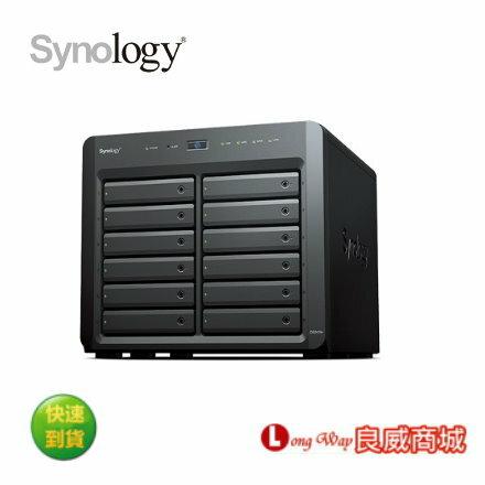 Synology 群暉科技 DiskStation DS2419+ 12Bay NAS 網路儲存伺服器 (不含硬碟)~加碼送隨身碟~