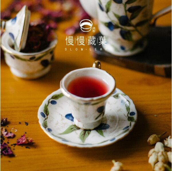 【免運】慢慢藏葉-蜜桃風味玫果紅茶【立體茶包20入袋】酸甜香氣冰果茶最適【調茶師推薦】