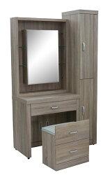 【尚品家具】821-04 亞諾化妝鏡台(含椅)/化妝台/梳妝台/儀容整理桌/美麗魔鏡桌