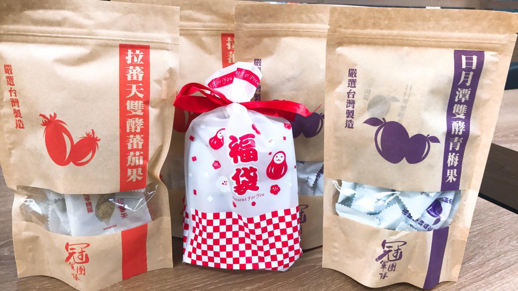 【CHIA】青梅果 / 番茄果 2種口味(共4包) - 限時優惠好康折扣