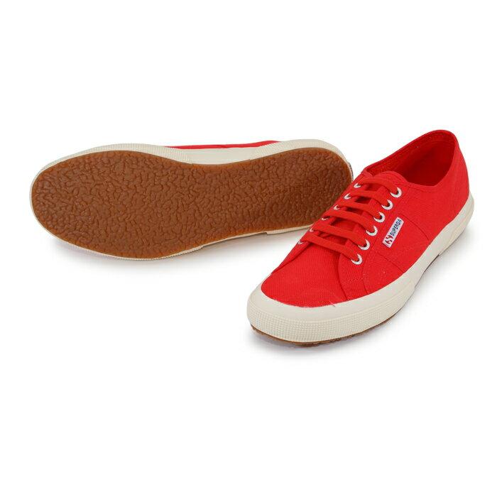 【SUPERGA】義大利國民鞋-紅  Cotu - Classic2750 3