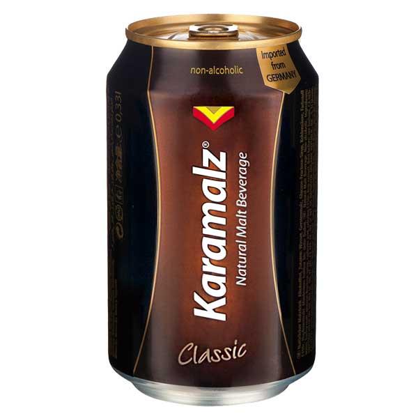 Karamalz 德國進口黑麥汁(易開罐) 330ml (24入)x2箱【康鄰超市】 1