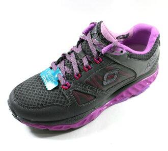 [陽光樂活] SKECHERS (女) 回彈力慢跑鞋 2017新款 SRR PRO-RESISTANCE 訓練專用 - 88888037CCPR 紫灰
