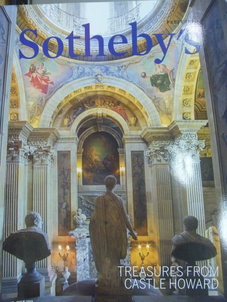 【書寶二手書T2/收藏_ZKR】Sothebys_2015/6-7_Castle Howard_Members..