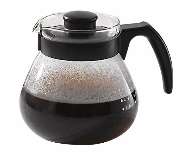 日本【HARIO】TC-100B可微波耐熱咖啡壺(1000ml)