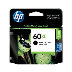 HP 黑色高容量墨水匣 CC641WA 60XL 適用 D1660/D2660/D5560/F2410/F2480/D2360/D2560/F4280