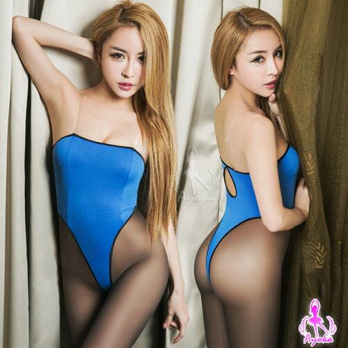 愛的蔓延:愛的蔓延平口美背高衩死庫水二件式連身衣性感睡衣NA16030060